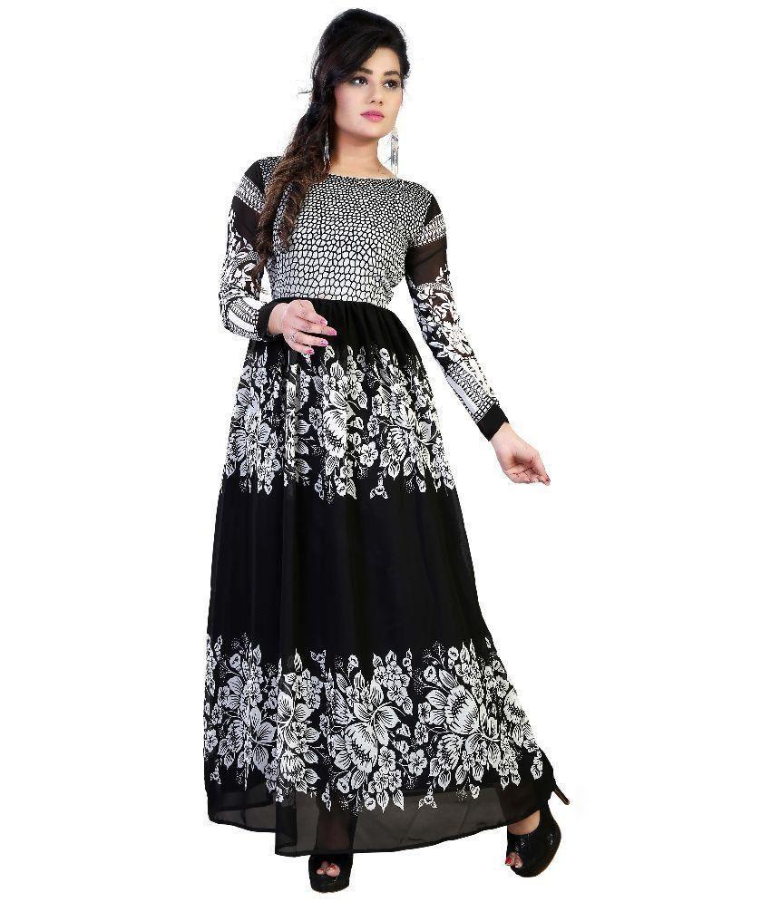 66abe2393d4 Shreeji Designer Georgette Gown