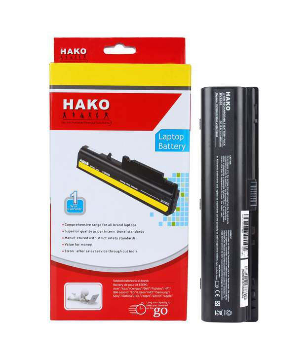 Hako HP Compaq Pavilion Dv2000 V6000 6 Cell Laptop Battery