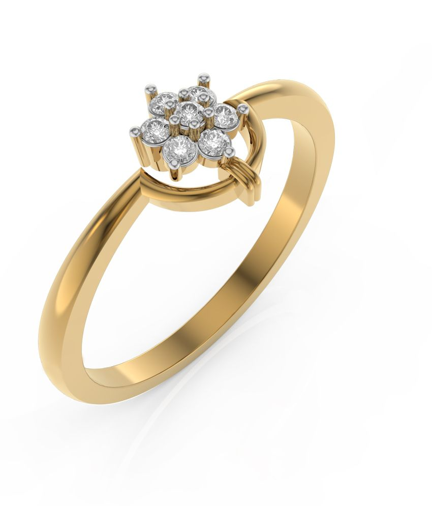 Rings And Blings 18kt Gold Ring