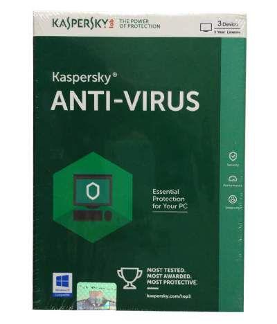Kaspersky Antivirus 2016 3 PC 3 Year CD