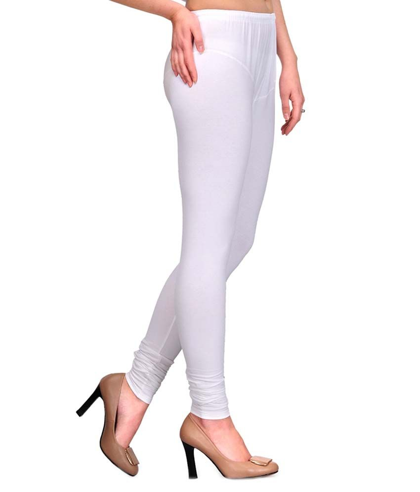 Grind Sapphire White Lycra Leggings Price in India Buy Grind