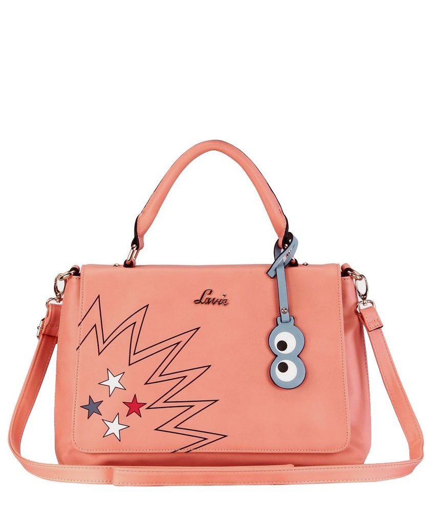 Lavie POPPINS HH FLAP SATCHEL PeachPuff Handbag