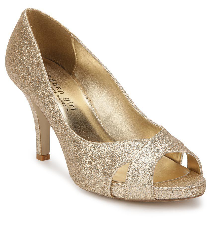 1dfc0ebd8b9 Steve Madden Gertiee Gold Stiletto Heels Price in India