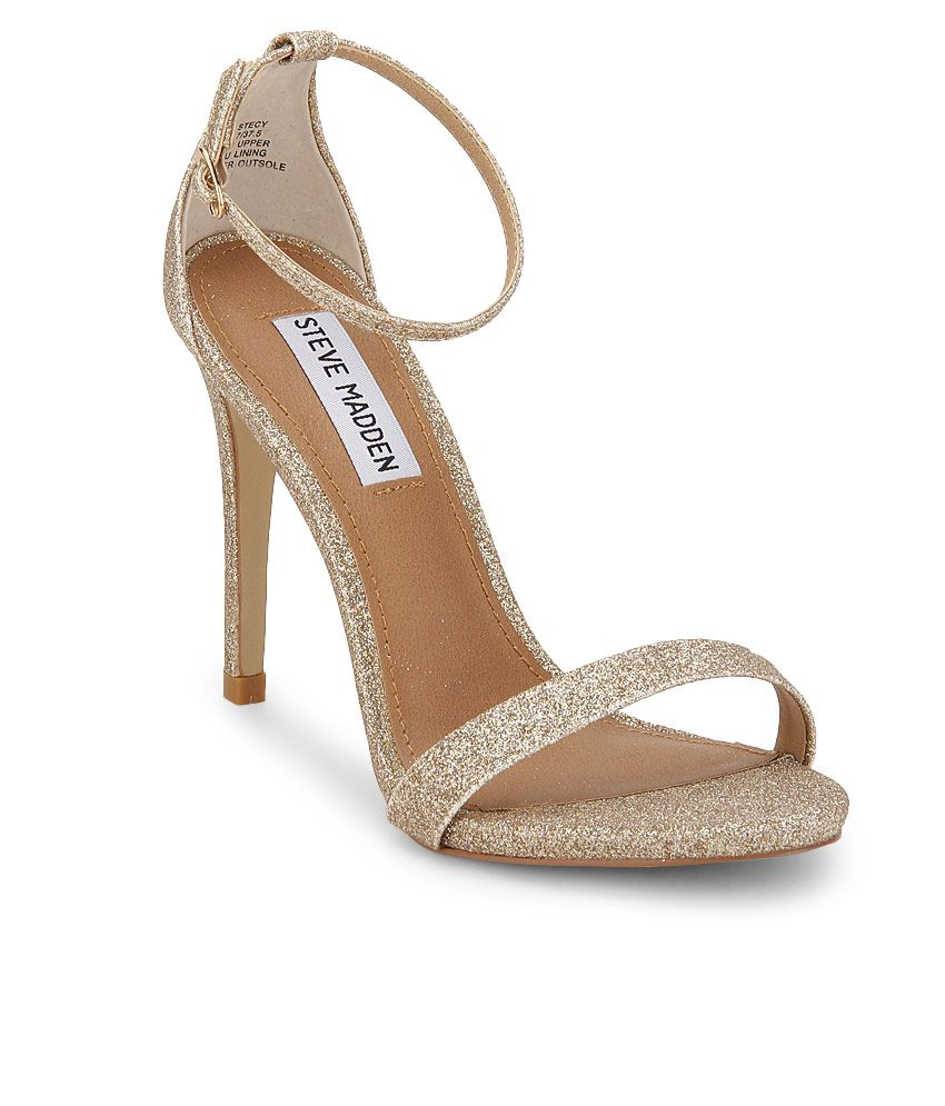173fb721aa3 Steve Madden Stecy Gold Stiletto Heels Price in India- Buy Steve ...