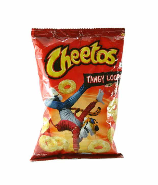 Cheetos Tangy Loops Namkeen 34 G