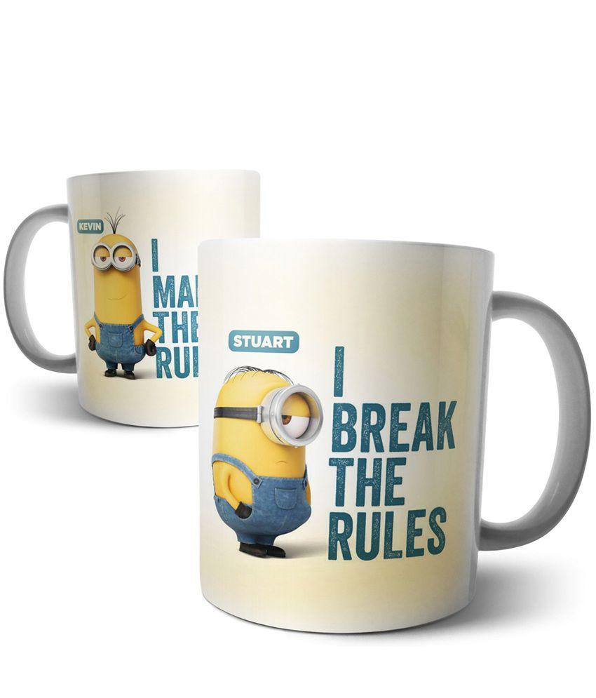 Chiraiyaa Ceramic Coffee Mug 1 Pcs 300 ml