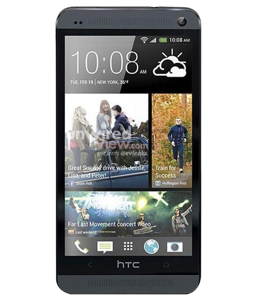 HTC One M7 Single Sim Black