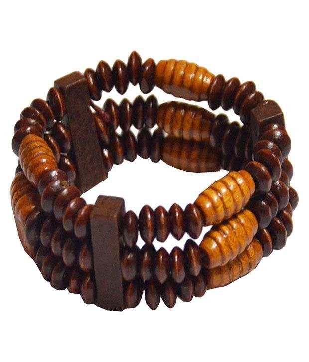Men Style Brown Alloy Bracelet
