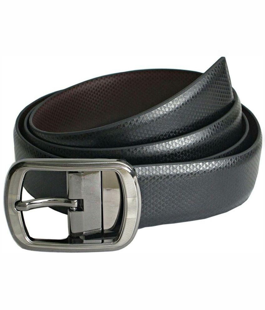 Abhinavs Black & Brown Belt - Pack of 2