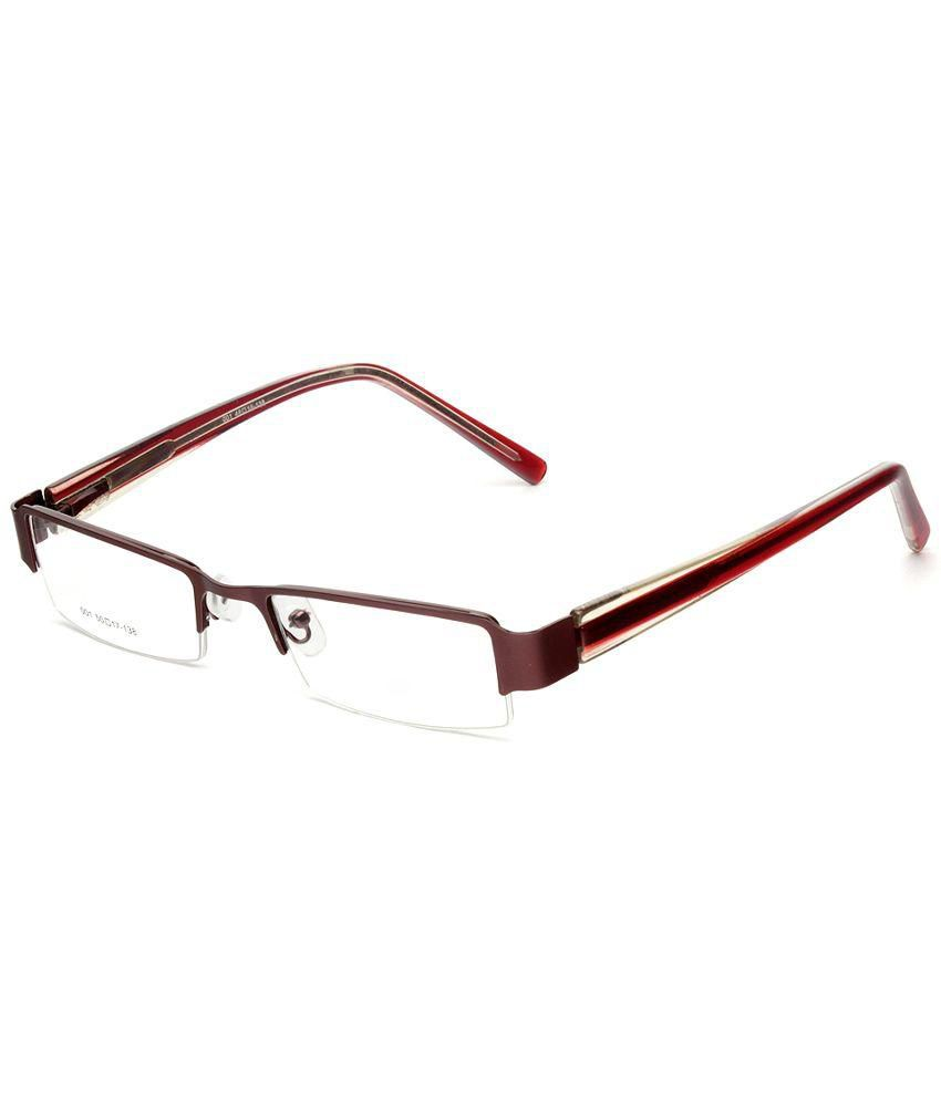 Specky Maroon Rectangle Spectacle Frame