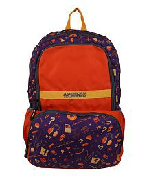 American Tourister Hashtag Orange Backpack