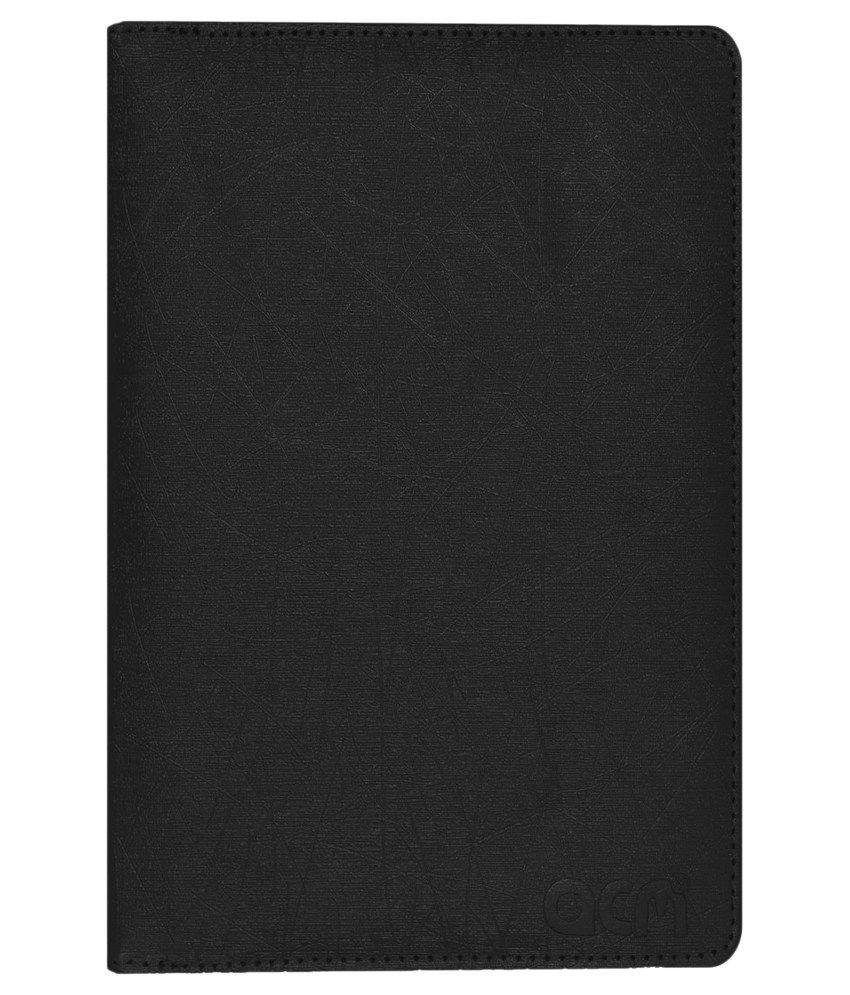 ACM Rotating Case For iBall Slide 3G 7271 Cover - Black