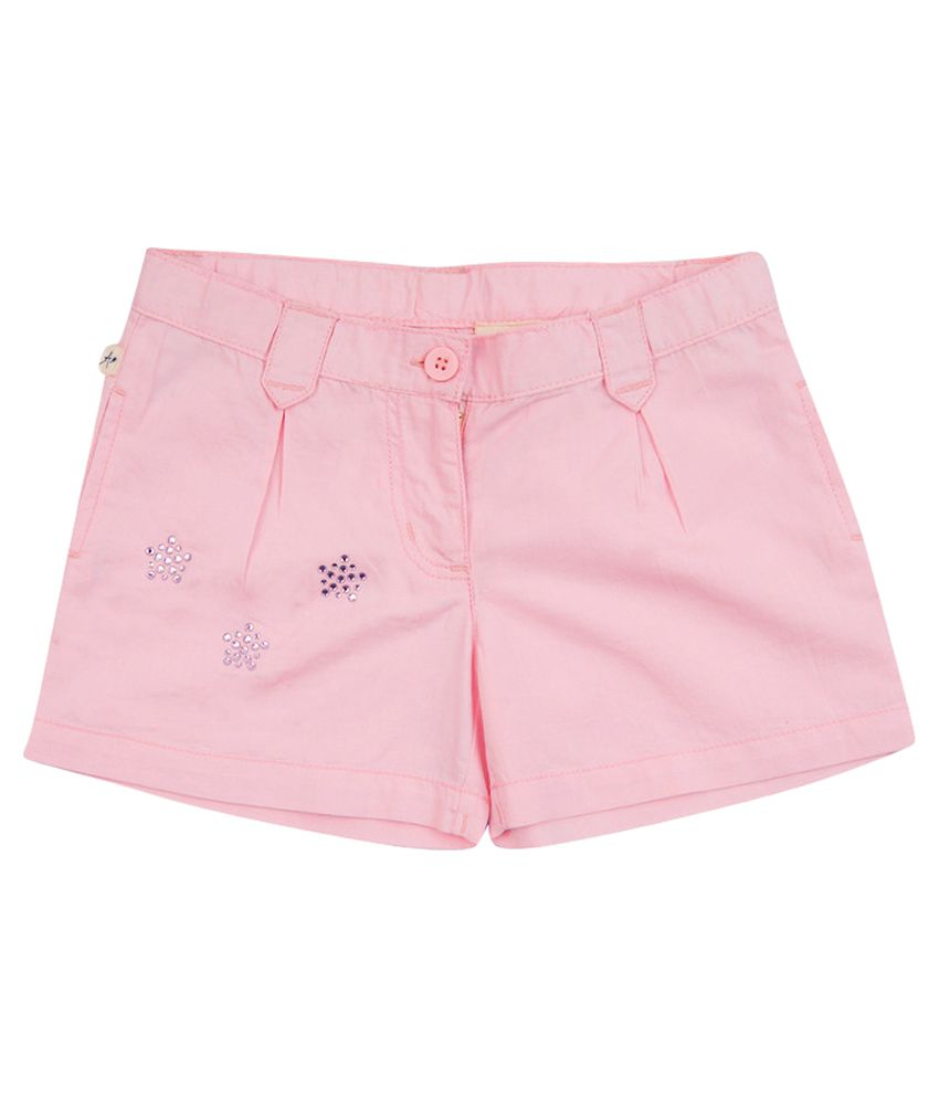 Aristot Pink Short for Girls for kids girls