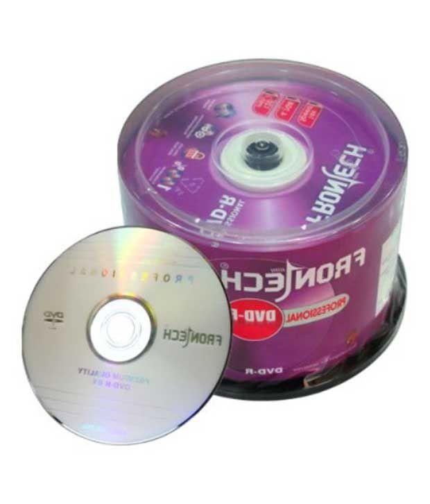 Frontech DVD-R 4.7 GB Blank DVD
