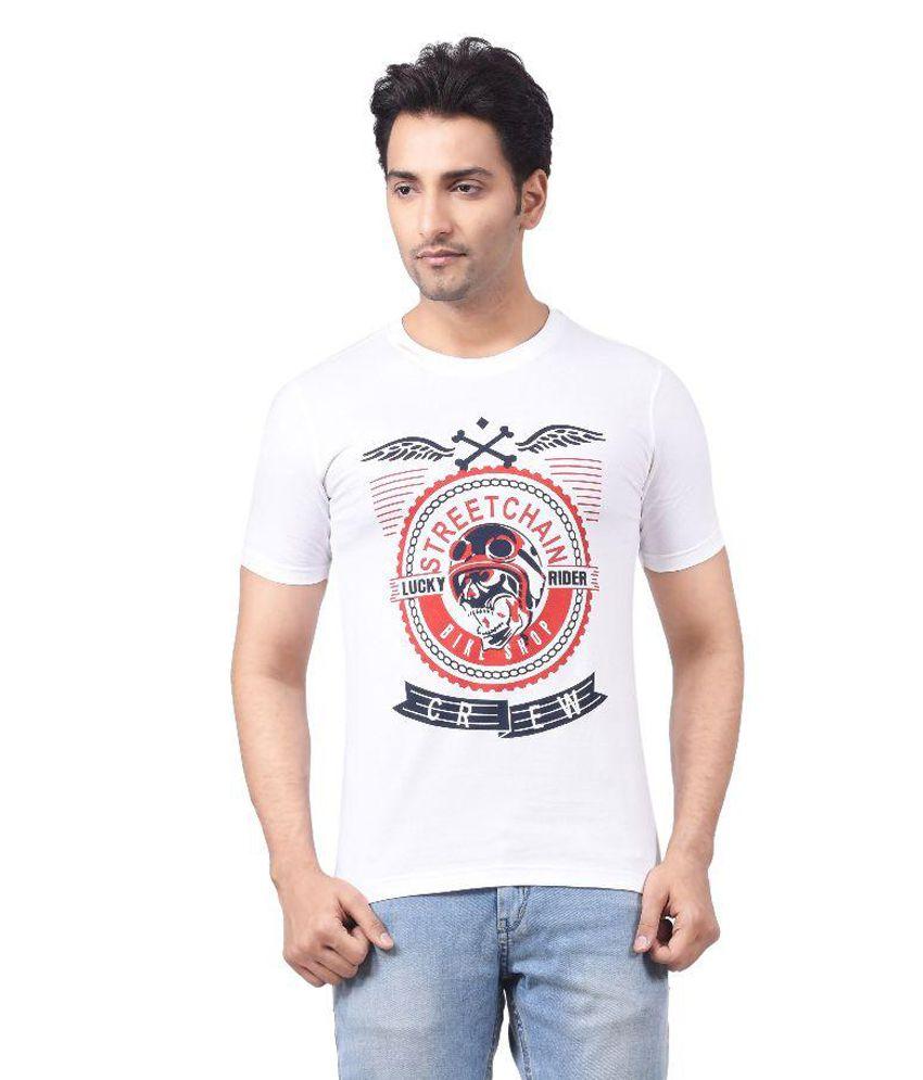 Regnum White Round T Shirts
