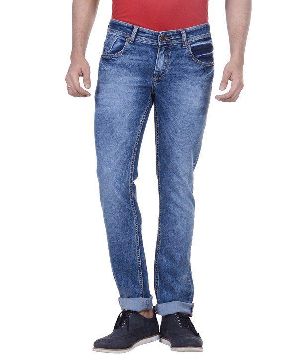 Passport Blue Slim Fit Jeans