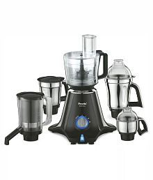 Preethi Zodiac MG 218 750-Watt Mixer Grinder (Black/Light Grey)