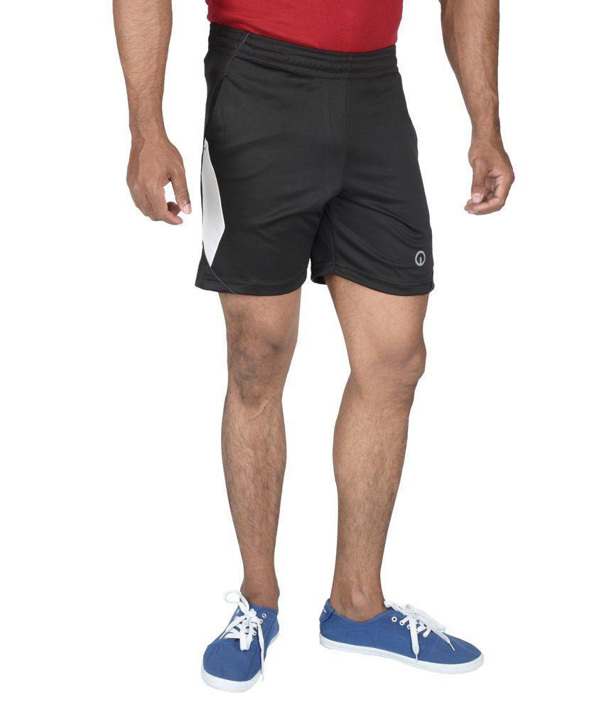 Integriti Black Shorts