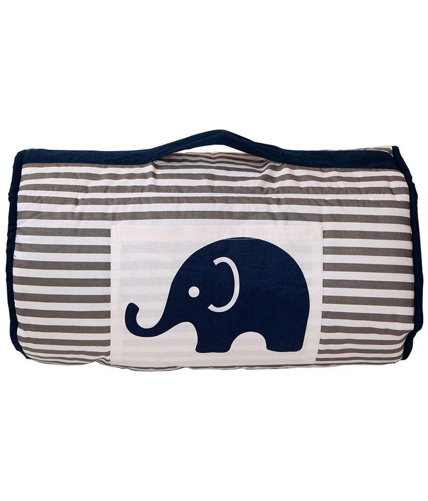 Bacati Blue Grey Sleeping Bag Bag Baby Blanket/Baby Swaddle/Baby Wrap