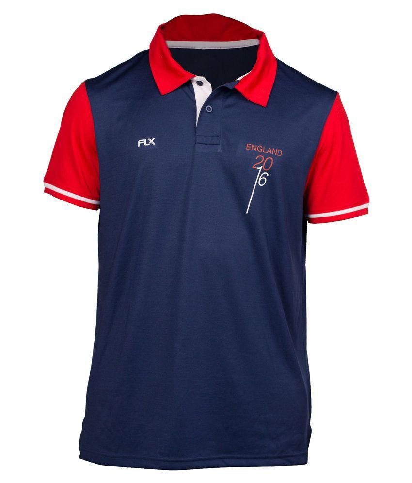 FLX Cricket World T20 England T-shirt