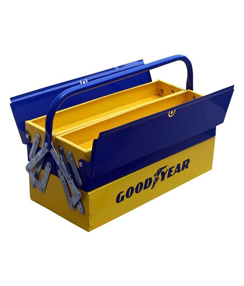 Goodyear Blue Steel Toolbox Cabinet: Buy Goodyear Blue ...
