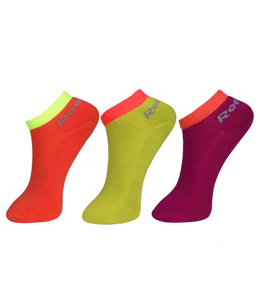 Reebok Women's Half Cushion Lowcut Socks - 3 pair pack