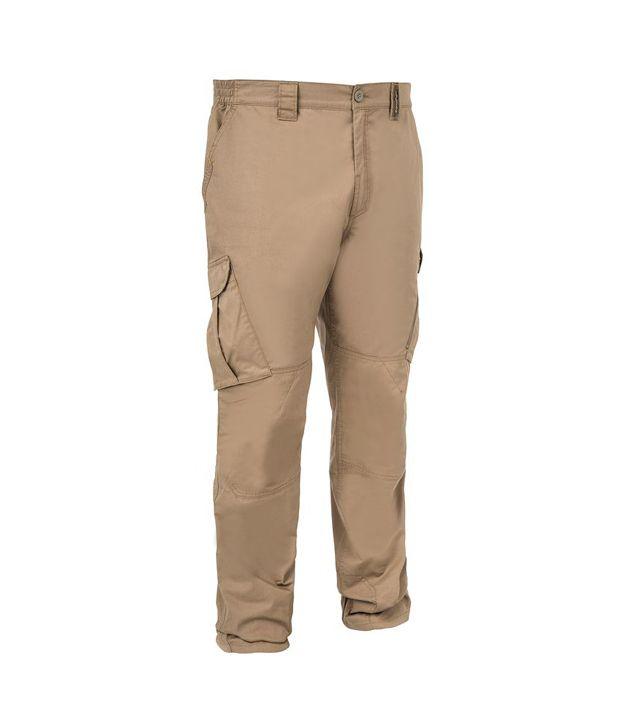 SOLOGNAC Pant 500 Brown By Decathlon
