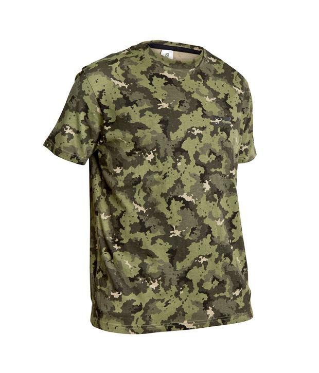 SOLOGNAC Steppe 100 T-Shirt Island Green