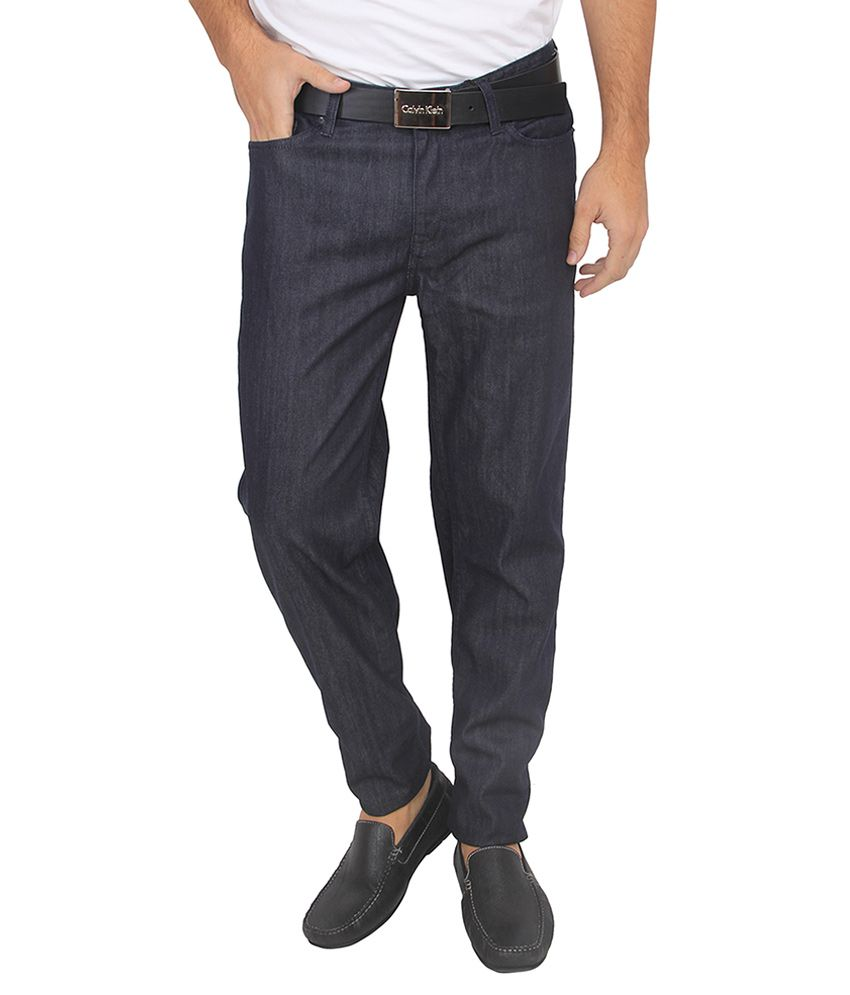 Calvin Klein Jeans Navy Regular Fit Jeans
