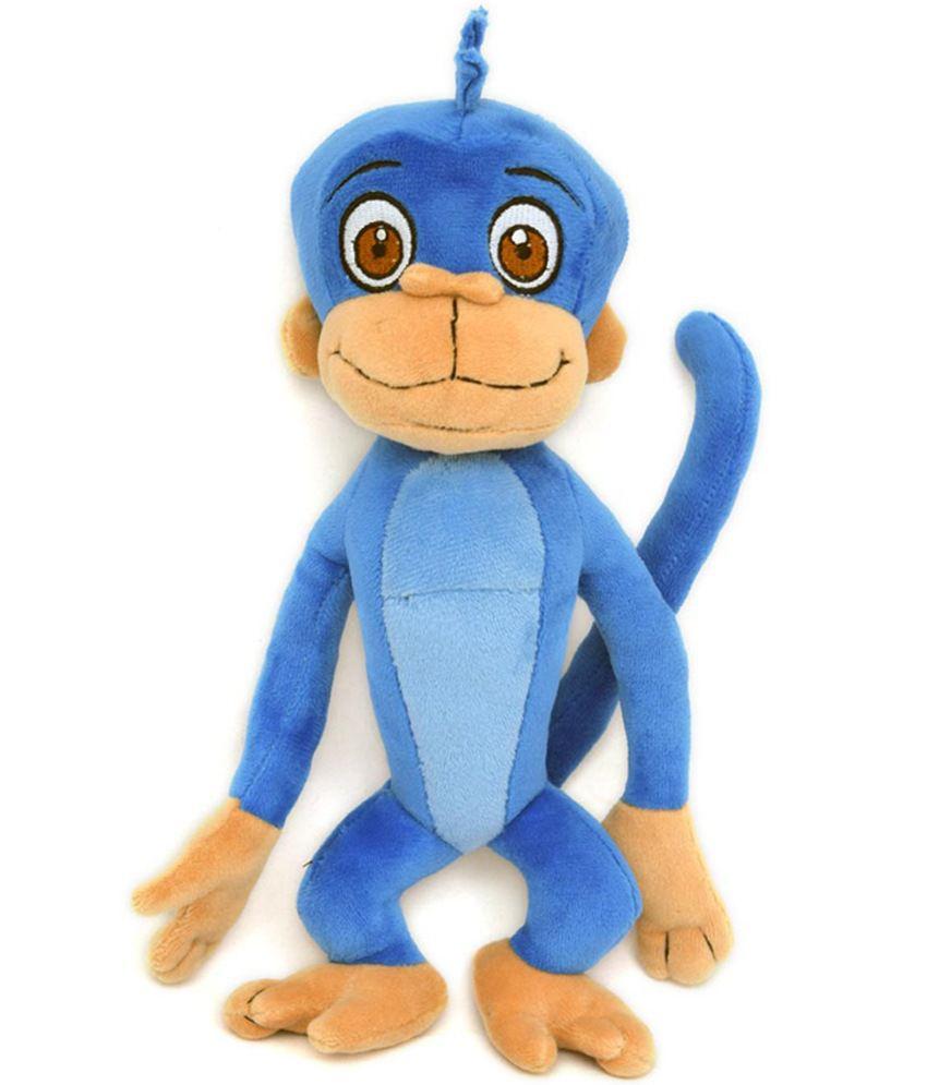 chhota bheem blue jaggu plush soft toy 22 cm buy chhota bheem blue