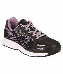 Reebok Black Running Sports Shoes