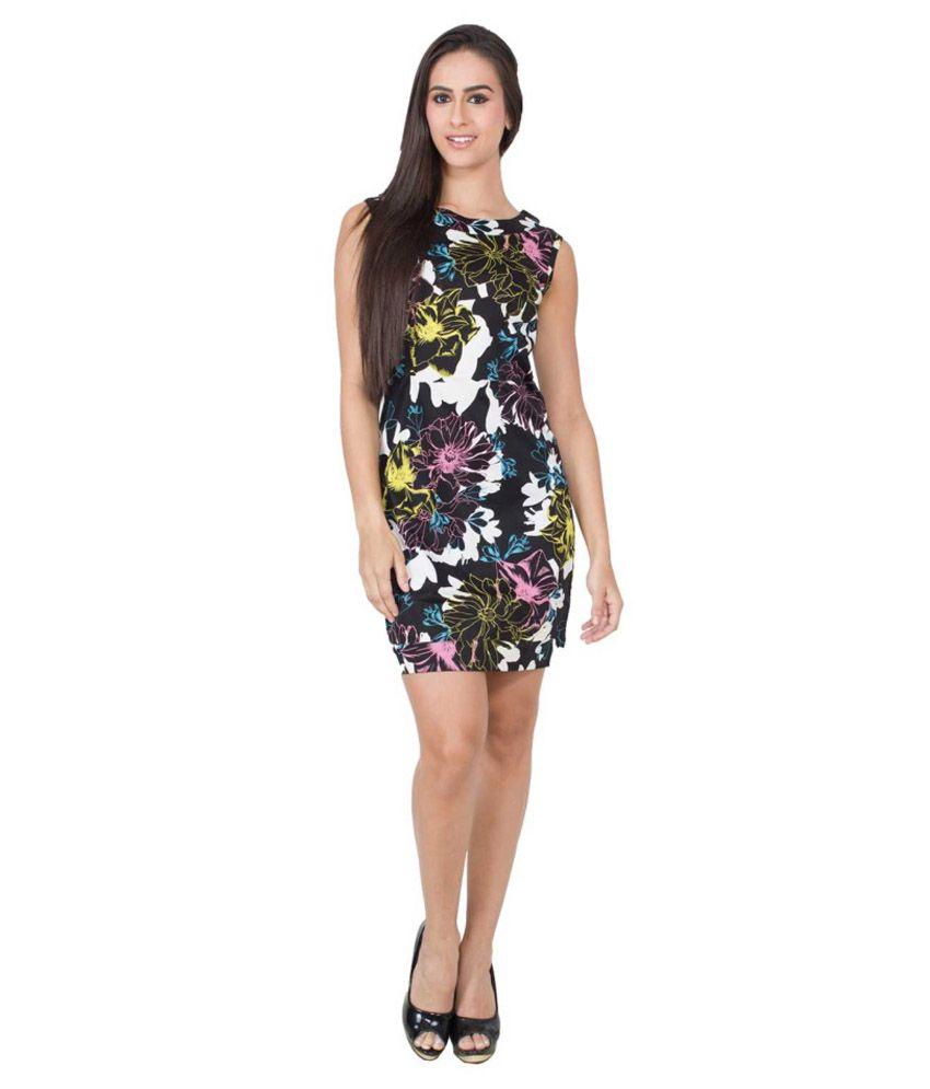 CJ15 Multi Color Cotton Lycra Dresses