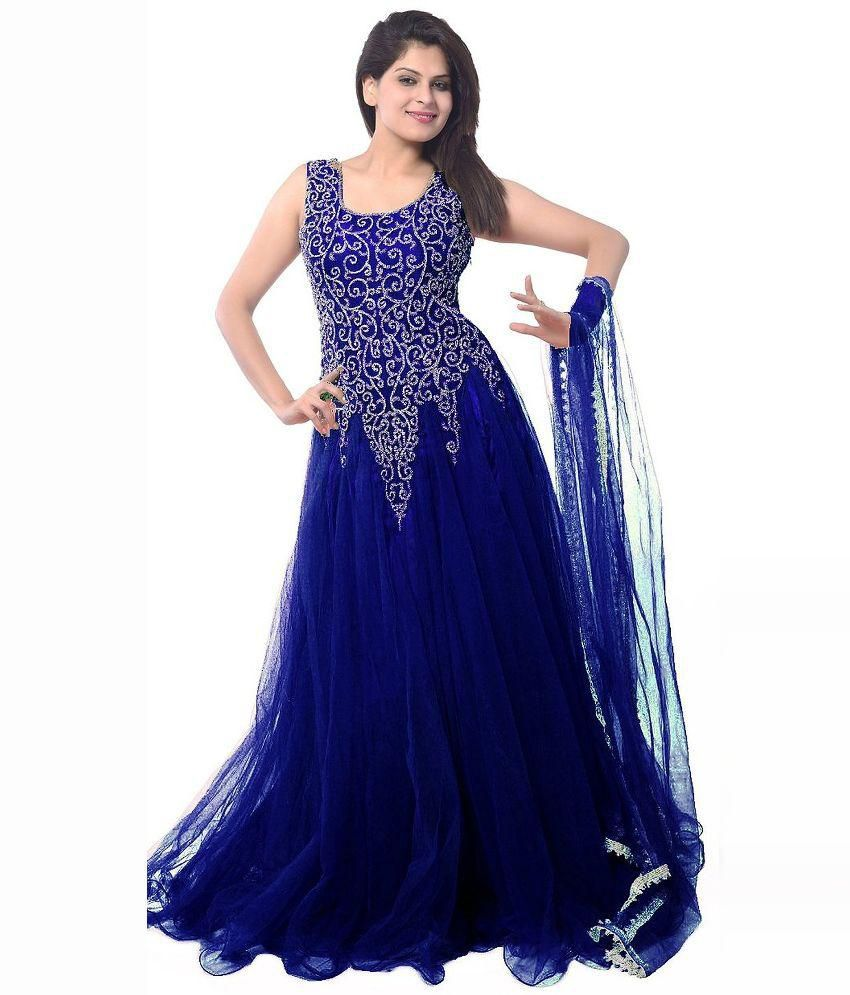 c74d31c85b4 Vinayak Creation Net Gown - Buy Vinayak Creation Net Gown Online at Best  Prices in India on Snapdeal