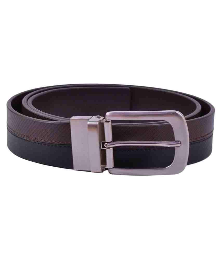 Aer Leather Black Leather Belt For Men