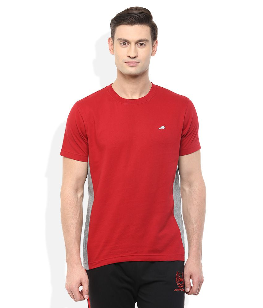 2go Red Round Neck T-Shirt