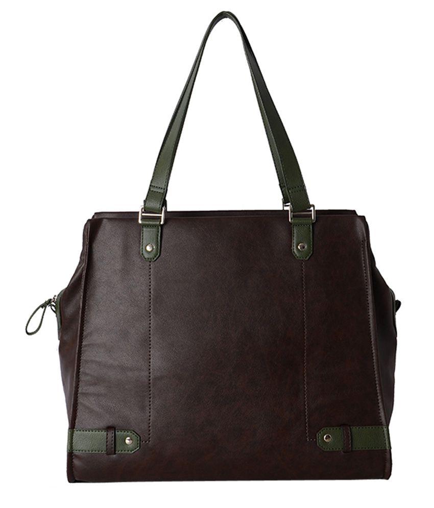 Baggit Brown P.U. Shoulder Bag