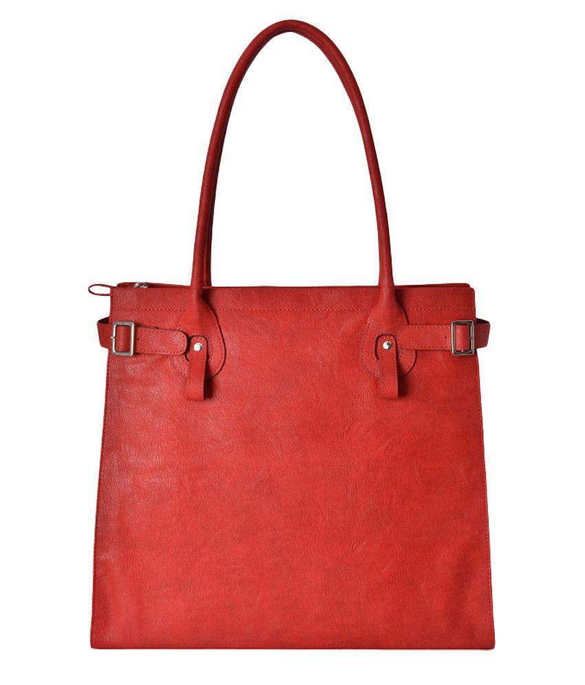 Baggit Red P.U. Shoulder Bag