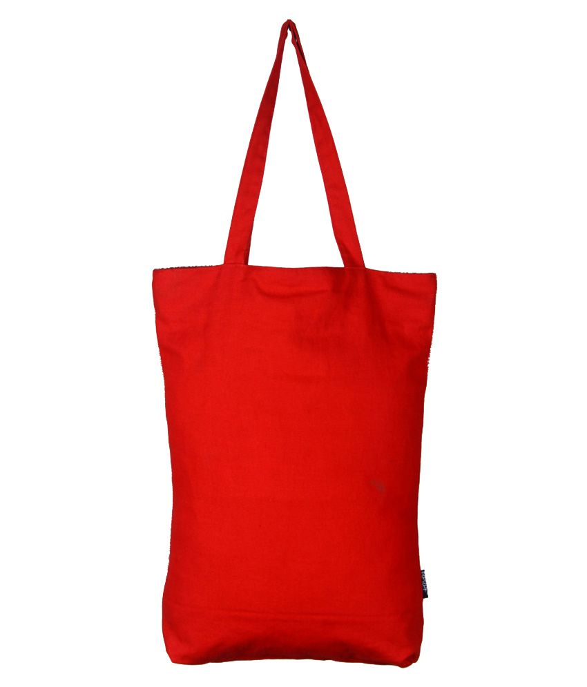 Berserk Red Canvas Tote Bag - Buy Berserk Red Canvas Tote Bag ...