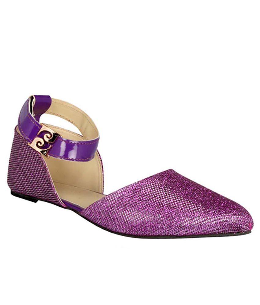 Footgear Purple Flats