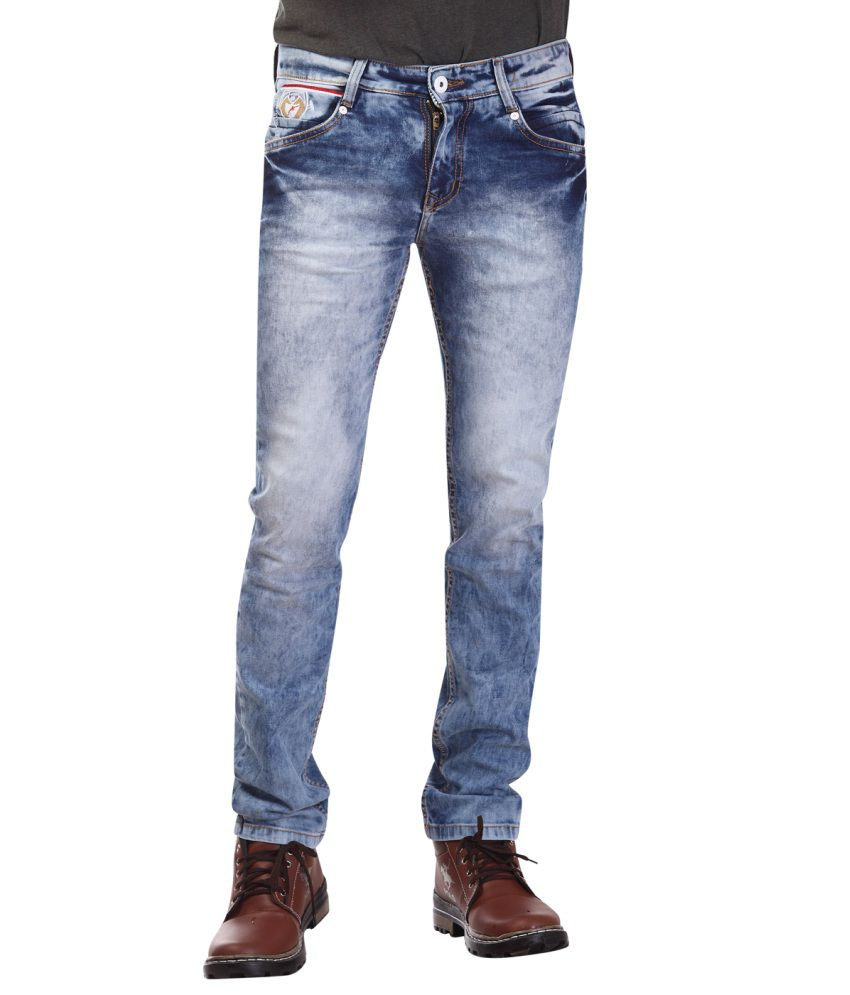 Katzan Jeans Blue Slim Fit Jeans