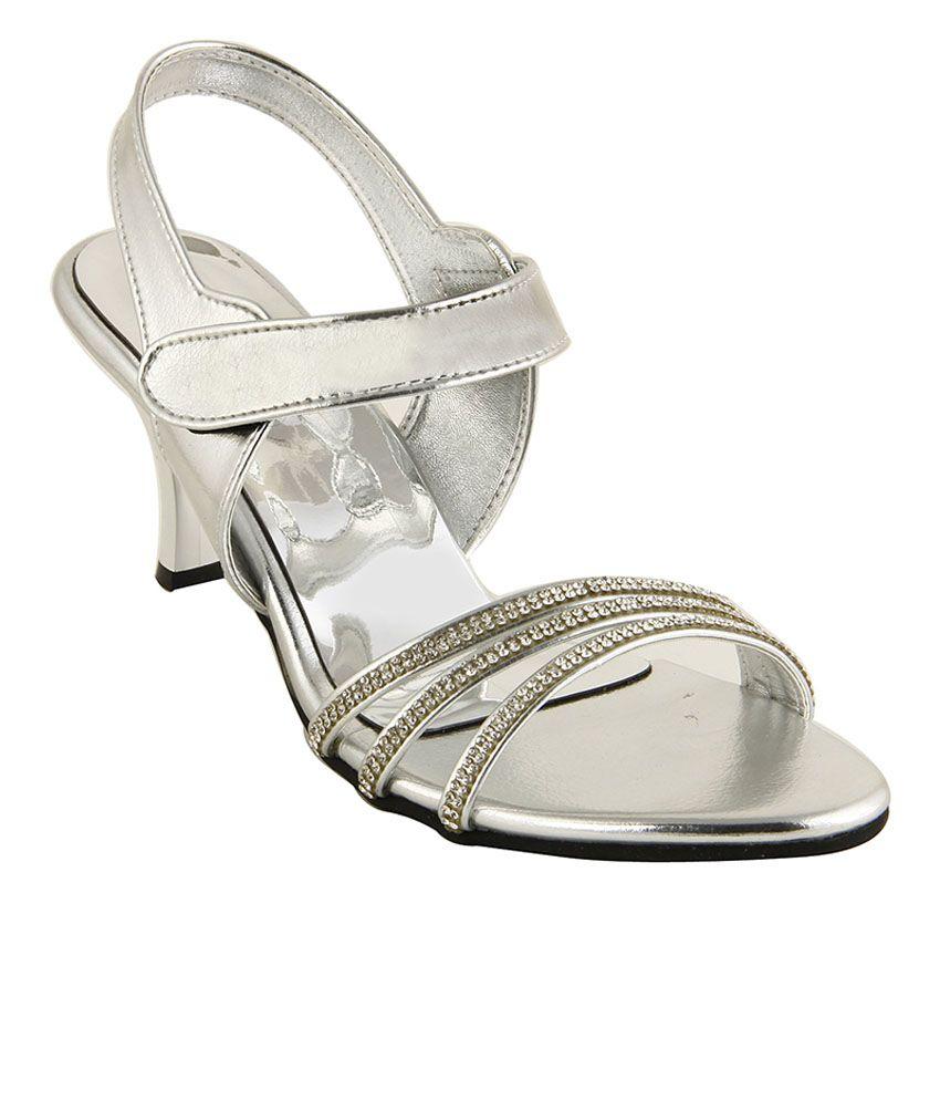 Tipcat Silver Stiletto Heels