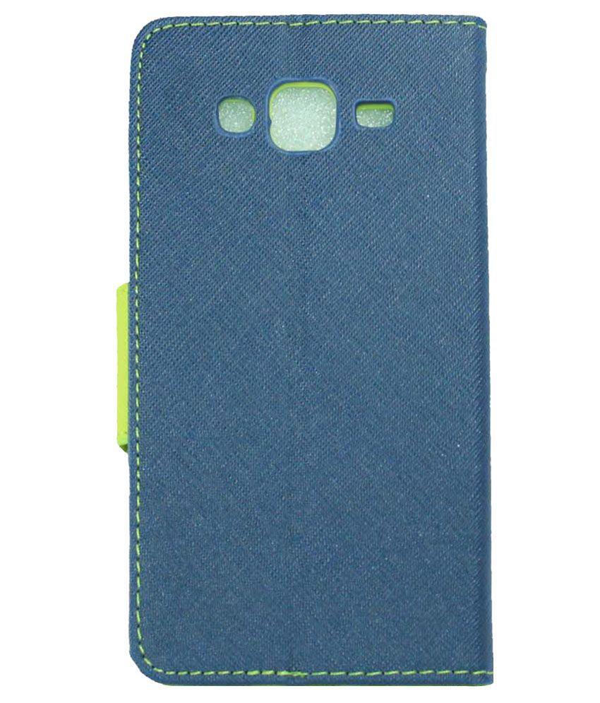 cheap for discount 6a8d2 da4dc Mercury Flip Cover for Samsung Galaxy J7 - Blue and Green