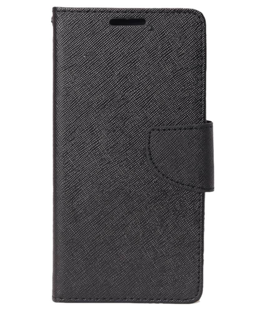 RDcase Flip Cover for OnePlus One   Black