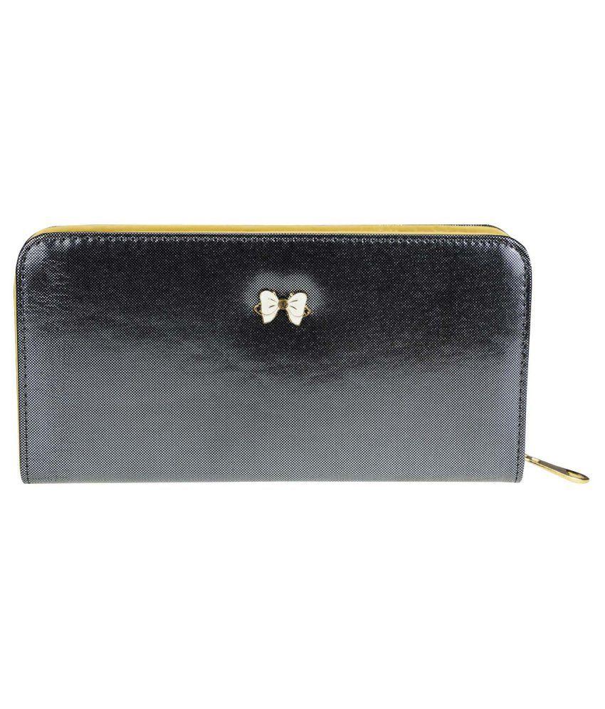 Zeva Black Regular Wallet