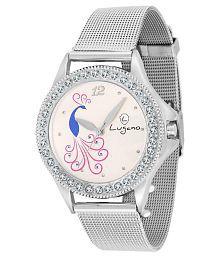 Lugano LG2016 Sheffer Chain Analog Watch For Women/Girls