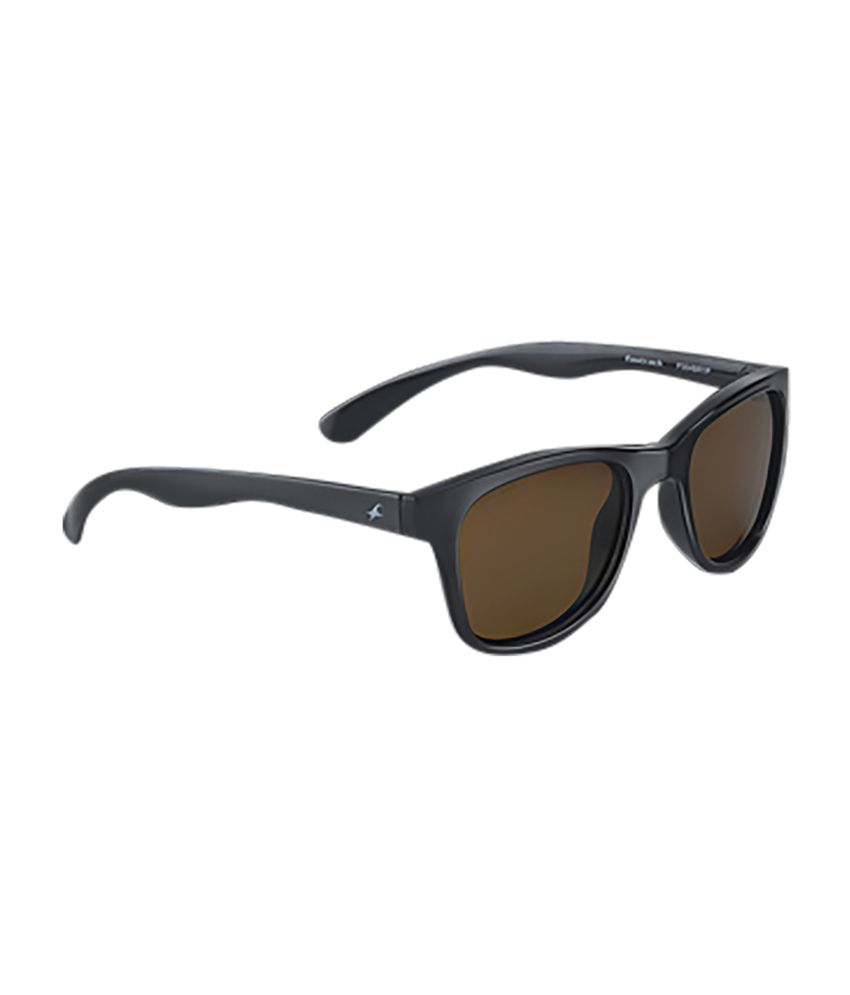 245d191e8106 Fastrack Brown Wayfarer Sunglasses - Buy Fastrack Brown Wayfarer Sunglasses  Online at Low Price - Snapdeal