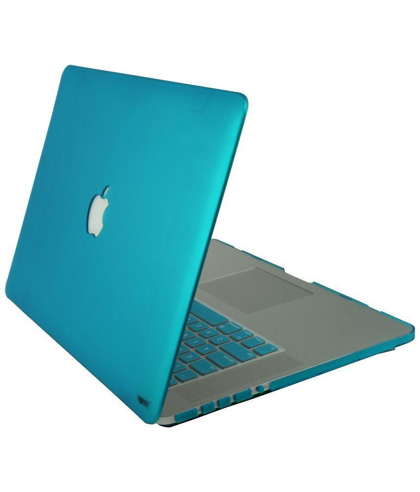 Heartly Hard Case Cover for MacBook Air - Blue