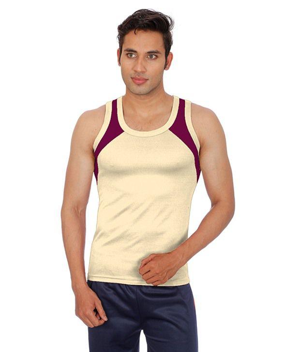Sportee Peach Round T Shirts