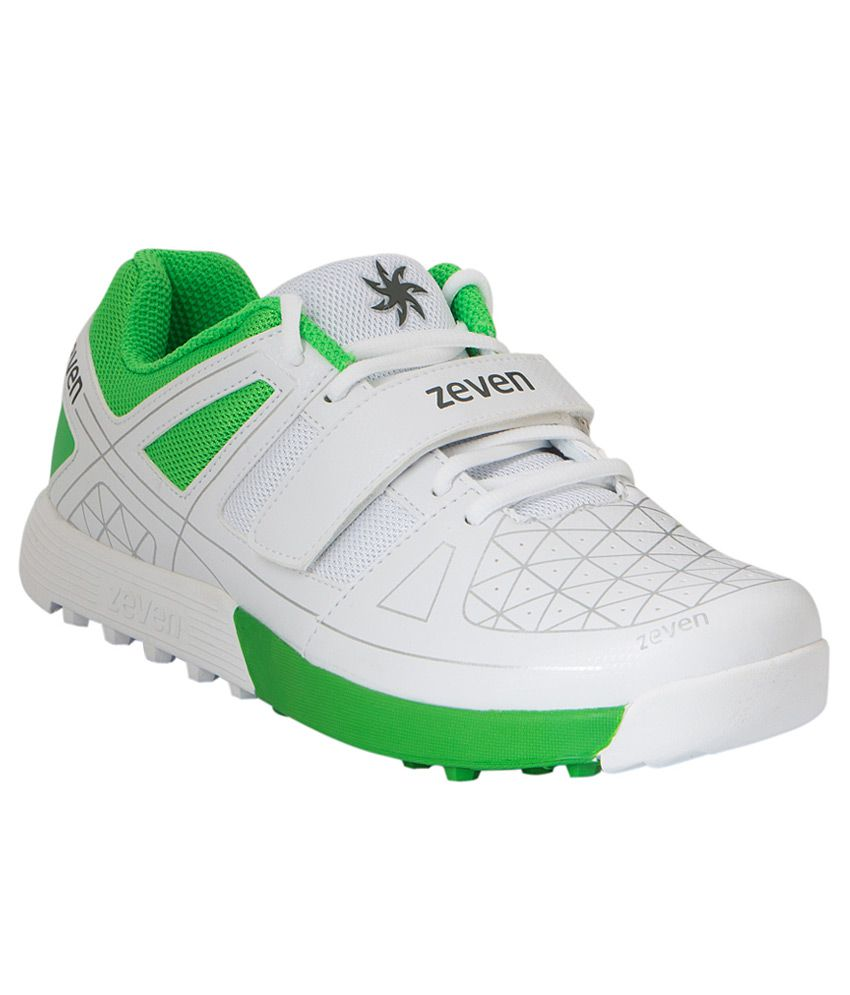 Zeven Crust 1 White Sports Shoes