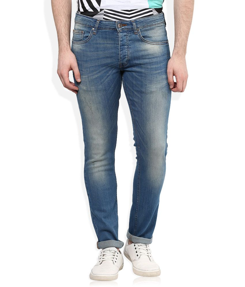 United Colors of Benetton Blue Skinny Fit Jeans